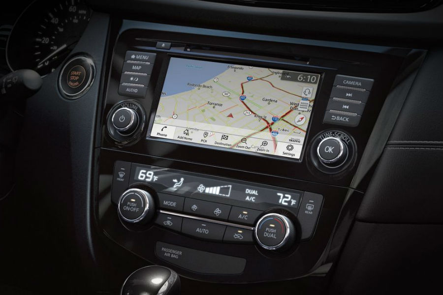 navi system in 2018 nissan rogue