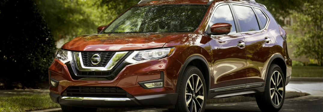 front end of 2019 nissan rogue