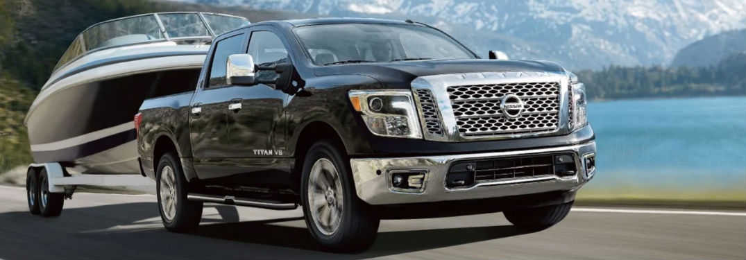 2019 Nissan Titan pickup truck delivers outstanding towing and payload capacity thanks to a powerful V8 engine