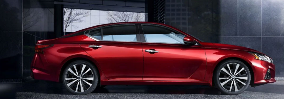 2019 Nissan Altima side profile