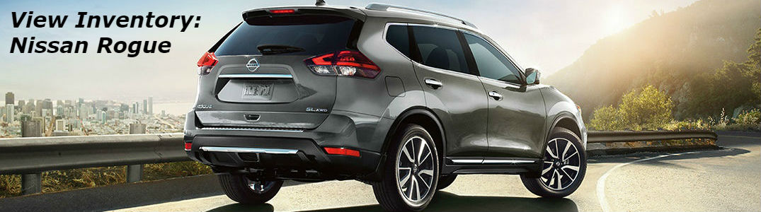 Nissan Rogue rear and side profile