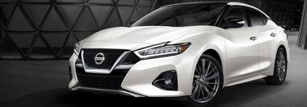 Nissan Maxima sports sedan shows off its stylish looks in 6 photos