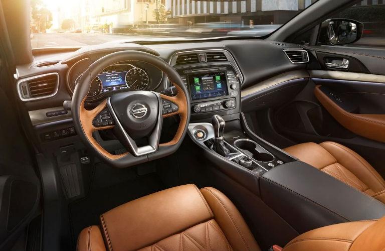 2019 Nissan Maxima dashboard