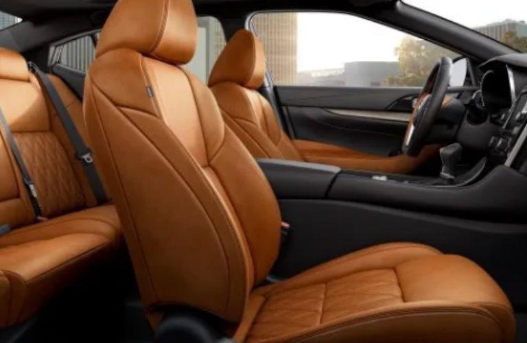 2019 Nissan Maxima front seats