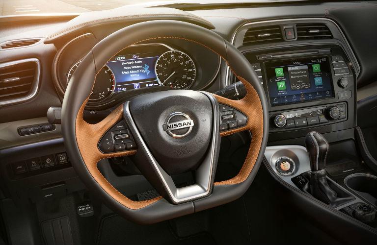 Nissan Maxima steering wheel