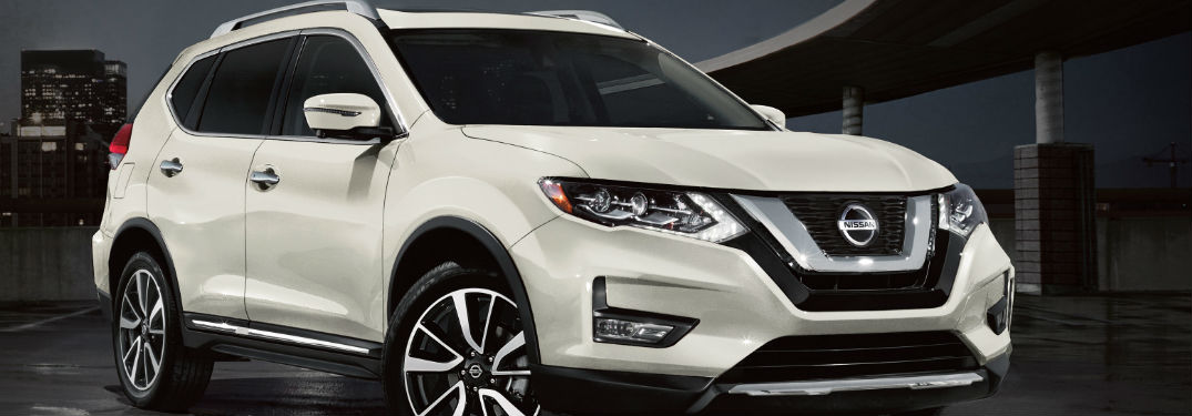 2020 Nissan Rogue front and side profile