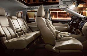 2020 Nissan Rogue interior seats