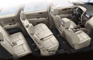 2020 Nissan Pathfinder passenger seats