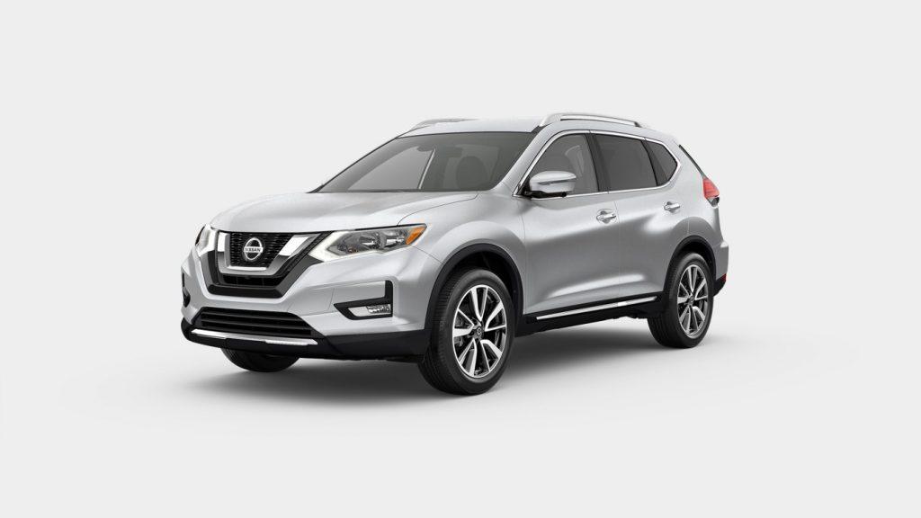 2020 Nissan Rogue Brilliant Silver Metallic