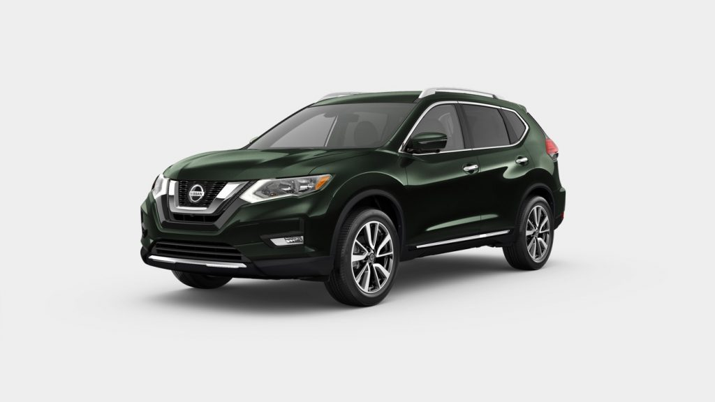 2020 Nissan Rogue Midnight Pine Metallic