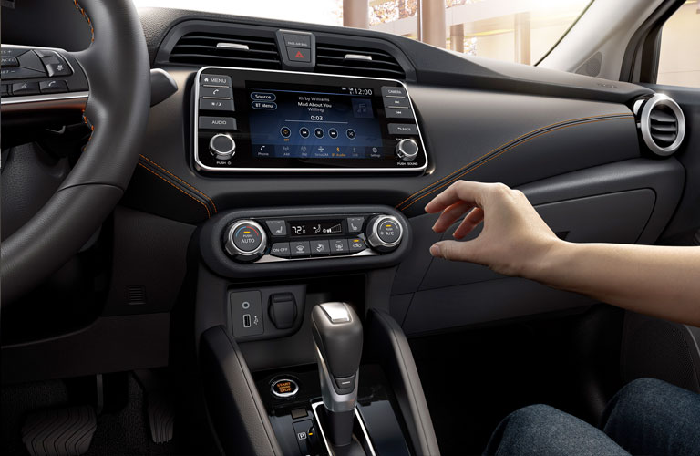 2020 Nissan Versa Sedan dashboard