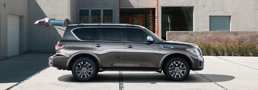 2020 Nissan Armada is available in 7 different exterior paint color options