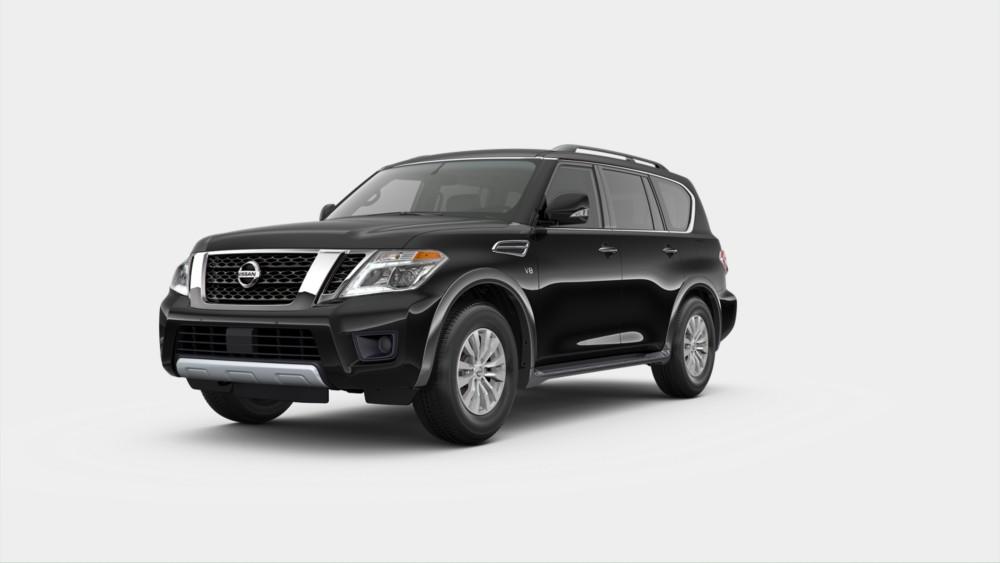 2020 Nissan Armada Super Black