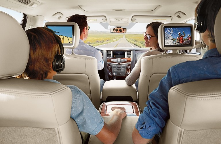 2020 Nissan Armada rear seats