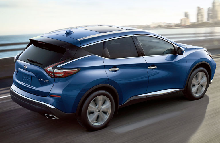 2020 Nissan Murano driving on a road