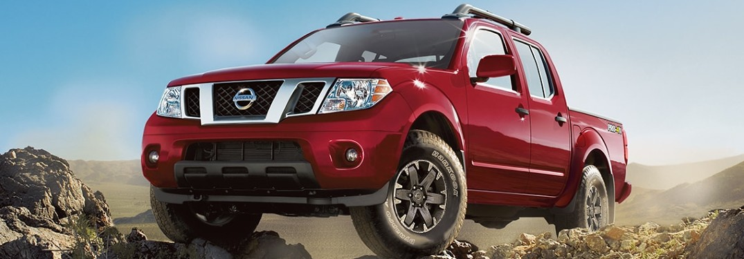 2020 Nissan Frontier front profile