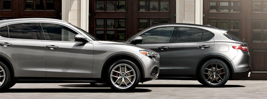 2018 Alfa Romeo Stelvio Available Exterior Paint Color Options