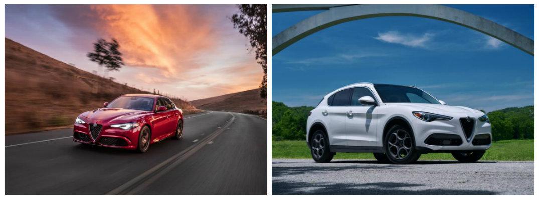 2018 Alfa Romeo Giulia and 2018 Alfa Romeo Stelvio models