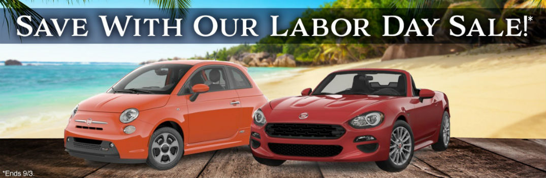 2018 FIAT 500e and 2018 FIAT 124 Spider lease special