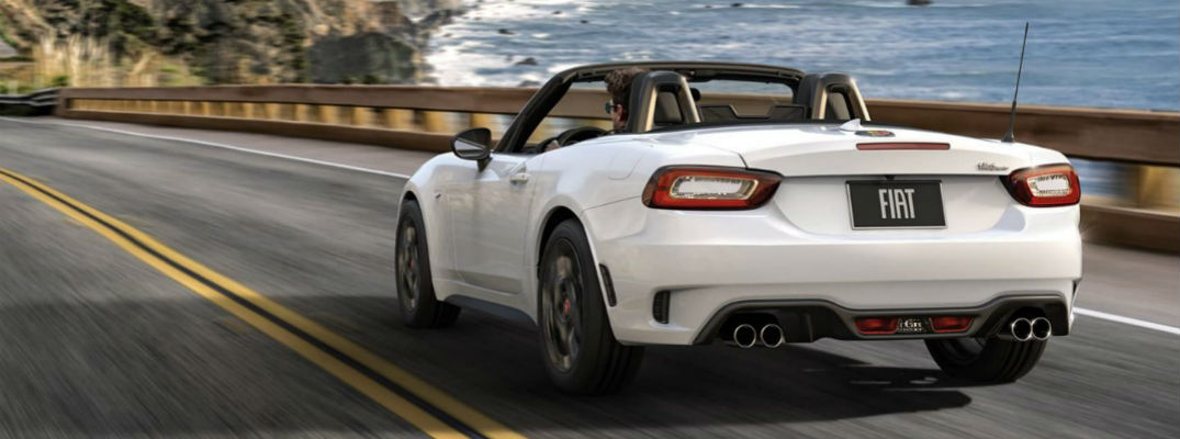 What Are The Color And Fabric Options For The 2019 Fiat 124 Spider