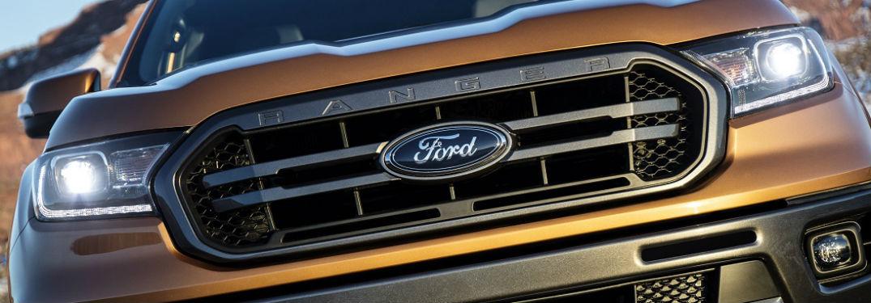 grille of 2019 ford ranger