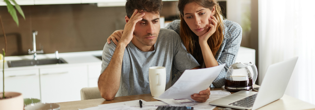 couple considering their finances