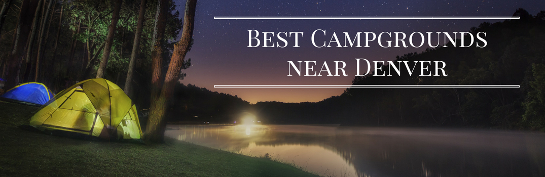 Best Campgrounds near Denver Title and Tents near a Lake