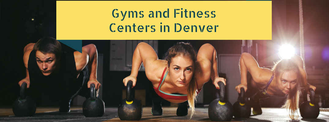 Gyms and Fitness Centers in Denver Title and People Exercising