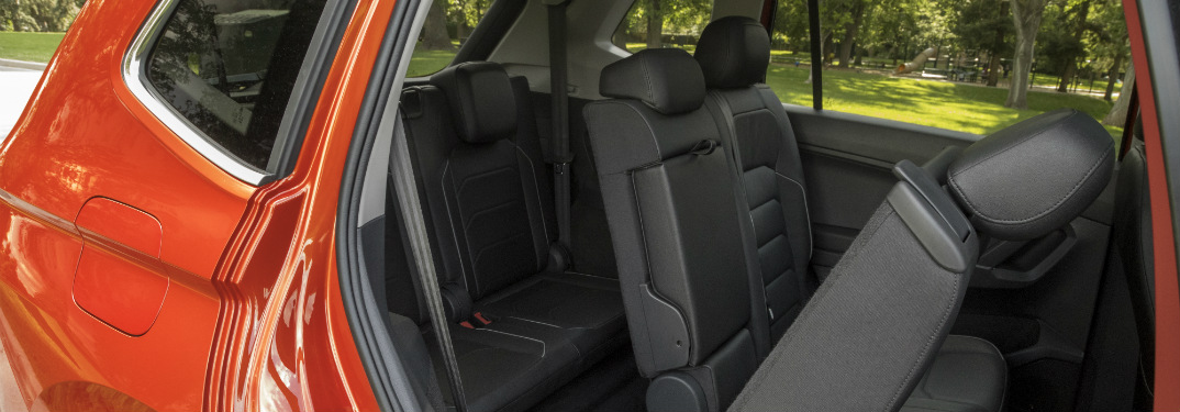 2018 Volkswagen Tiguan split-folding rear seats