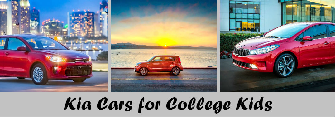 Start the school year in style with a new, affordable Kia model