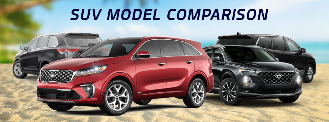 What's the Best SUV on the Market? Compare Sorento vs. Competition