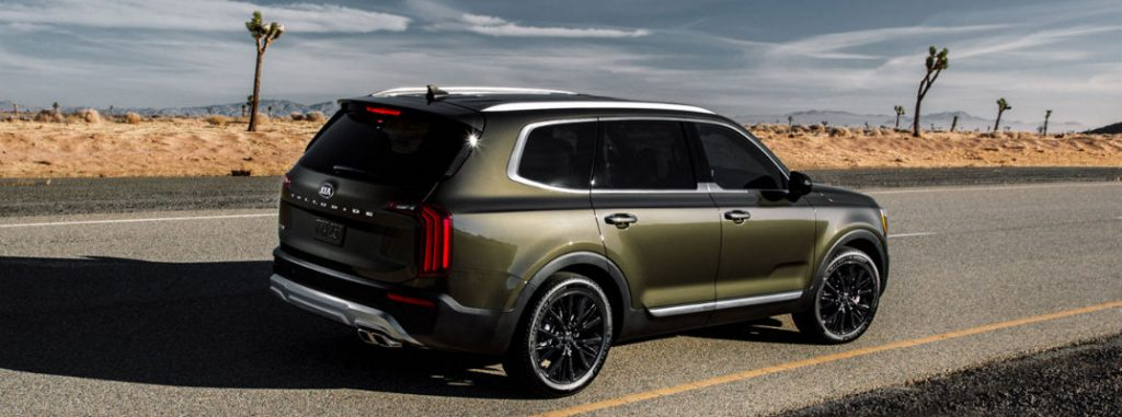 Find Your Favorite Paint Color for the 2020 Kia Telluride ...