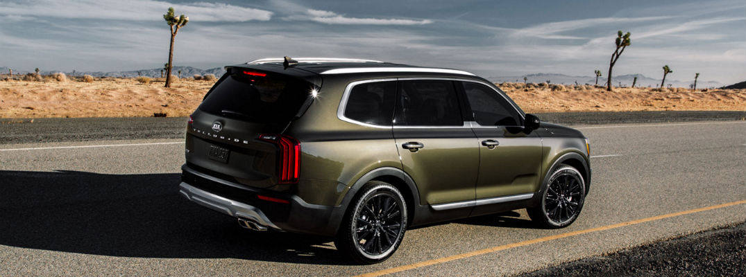 2020 Kia Telluride SUV on the road