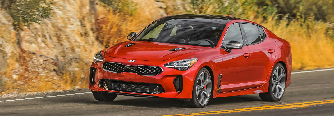 2019 Kia Stinger safety features