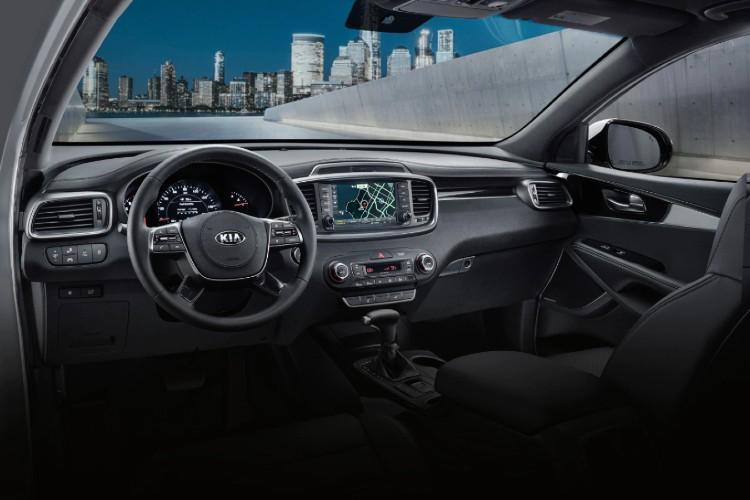 Interior front dash of 2020 Kia Sorento