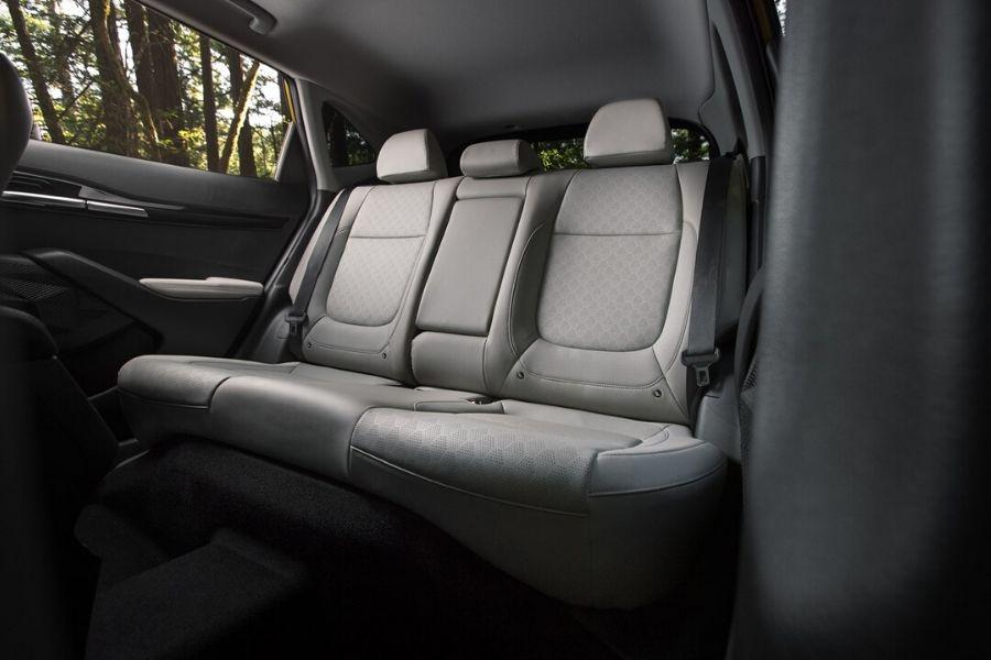 Back seats in 2021 Kia Seltos