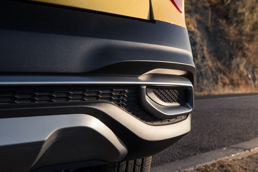 Rear bumper of 2021 Kia Seltos