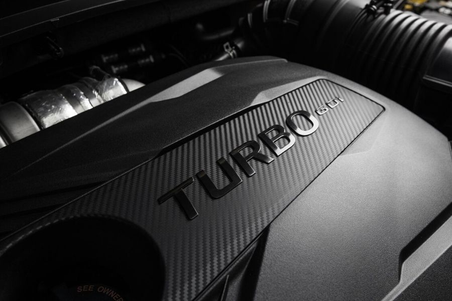 Turbo engine in 2021 Kia Seltos