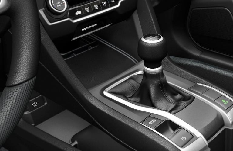 transmission stick in 2018 Honda CIvic