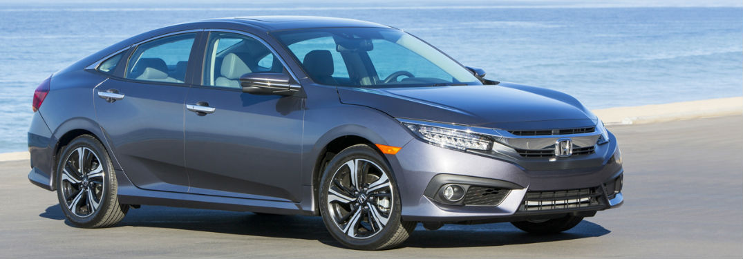 2018 Honda Civic parked