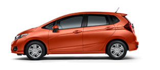 2019 Honda Fit LX trim