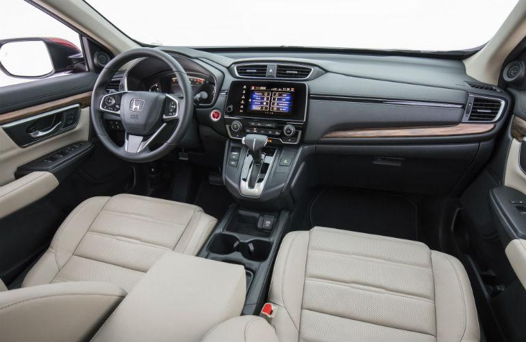 Front seats in 2018 Honda CR-V