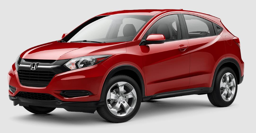2018 Honda HR V Milano Red