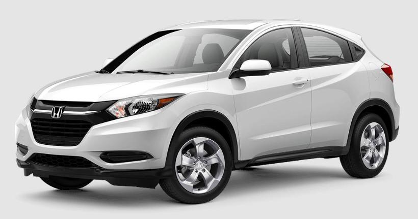 2018 Honda HR V White Orchid Pearl