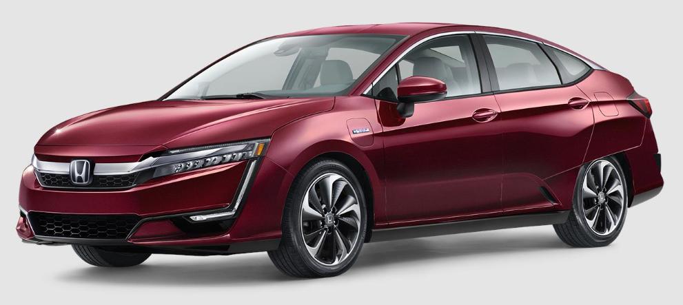 Honda Clarity Plug-In Hybrid Crimson Pearl