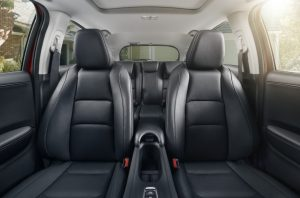 2019 Honda HR-V view of seating from front to back