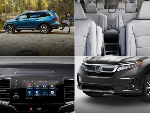 2019 Honda Pilot Touring features