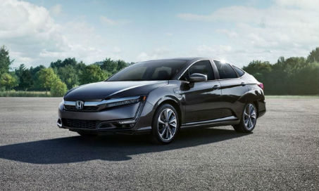 2018 Honda Clarity Plug-in Hybrid in a sunny parking lot