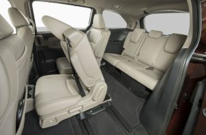2019 Honda Odyssey flexible rear seating