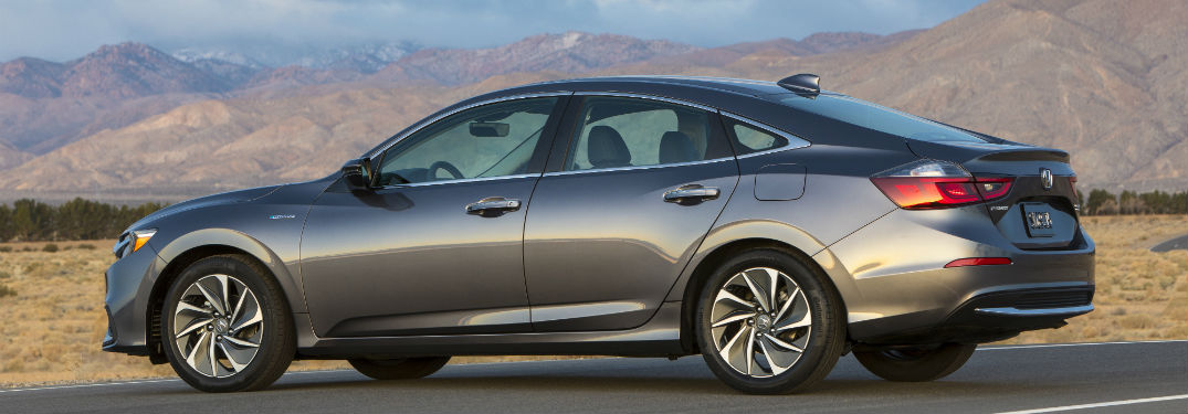 2019 Honda Insight in gray